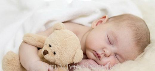 Спать вместе с малышом