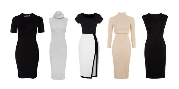 Современный деловой стиль одежды для женщин. Офисное платье