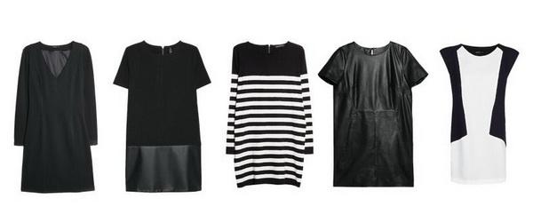 Современный деловой стиль одежды для женщин. Платье-футболка в стиле Mango