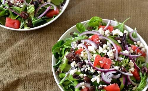 Салат готов! Классический рецепт как приготовить греческий салат