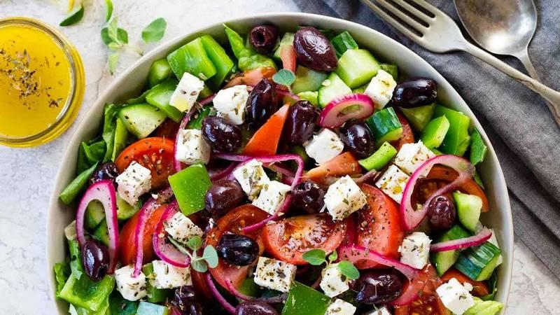 Рецепт приготовлении греческого салата