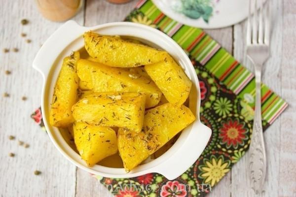Пряный картофель. Как приготовить вкусный гарнир