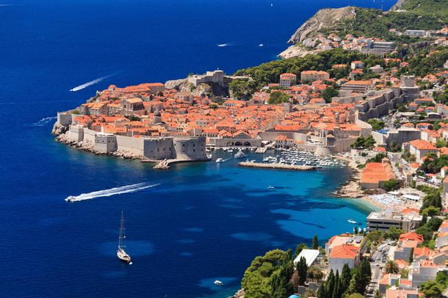 Самые романтические места Европы для отпуска. Дубровник, Хорватия