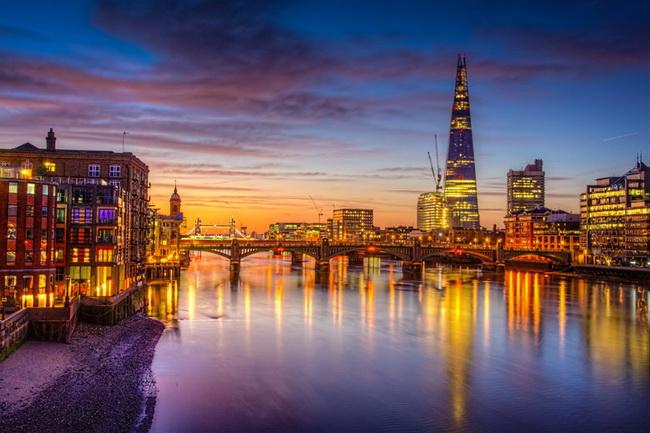Самые романтические места Европы для отпуска. Лондон, Англия
