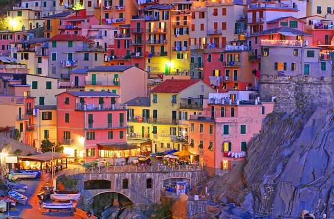 Самые романтические места Европы для отпуска. Чинкве-Терре, Лигурия, Италия
