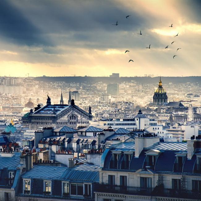 Самые романтические места Европы для отпуска. Париж, Франция