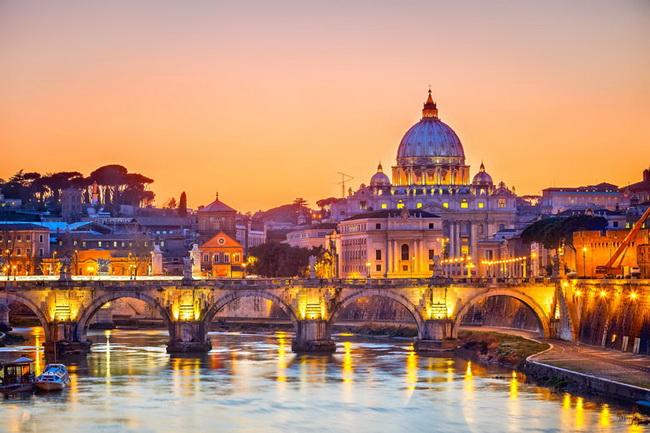 Самые романтические места Европы для отпуска. Рим, Лацио, Италия