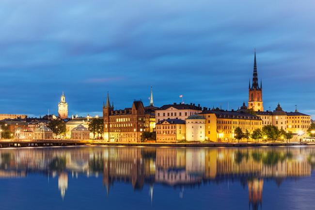 Самые романтические места Европы для отпуска. Стокгольм, Швеция