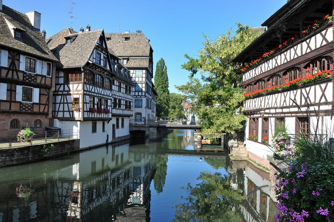 Самые романтические места Европы для отпуска. Страсбург, Эльзас, Франция