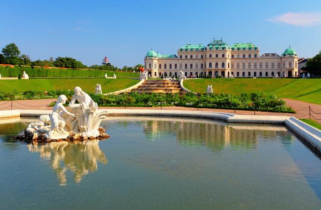 Самые романтические места Европы для отпуска. Вена, Австрия