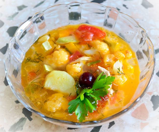 Как приготовить вкусный овощной суп
