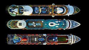 Самые большие круизные лайнеры