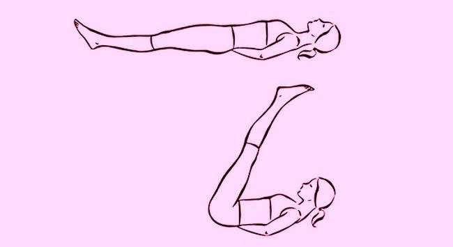Упражнение «Пять тибетцев» №2