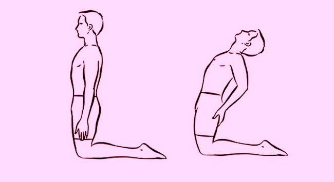 Упражнение «Пять тибетцев» №3