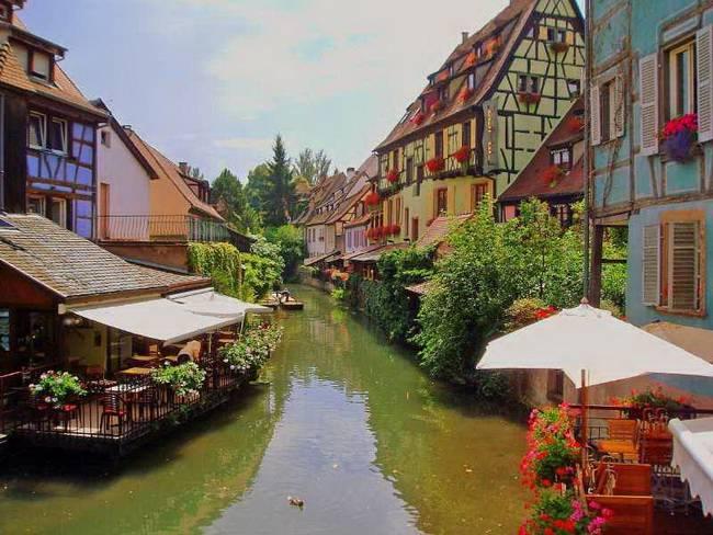 Самые живописные маленькие города: Кольмар, Франция