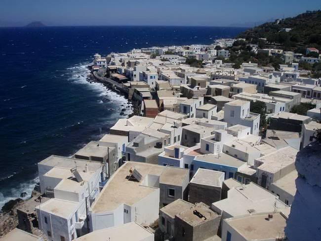 Самые живописные маленькие города: Мандраки, Нисирос, Греция