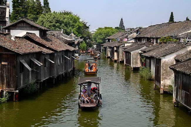 Самые живописные маленькие города: Вузхен, провинция Чжэцзян, Китай