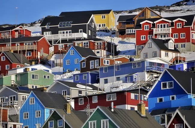 Самые живописные маленькие города: Какорток, Гренландия