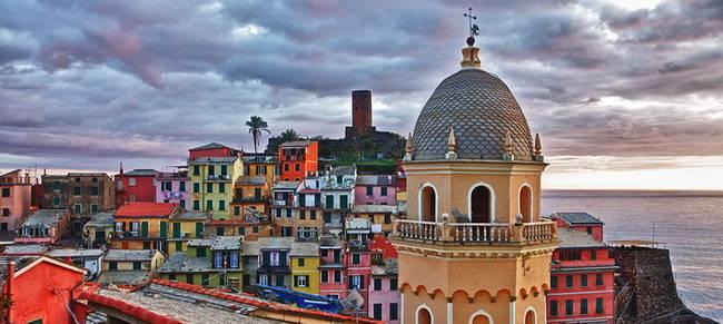 Самые живописные маленькие города: Чинкве-Терре, Италия