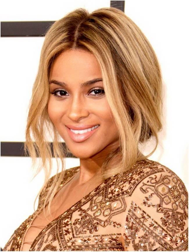 Притягательный светлый цвет волос: золотой оттенок, темный тон кожи