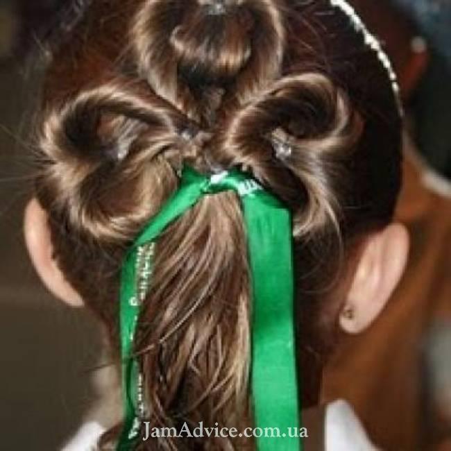 Детские прически для девочек на длинные волосы
