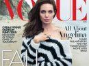 """Анджелина Джоли в пяти фотосессиях для журнала """"Vogue"""""""