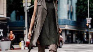 Сексуальный тренд: Короткие вязаные платья 2021 года