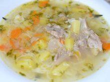 Как приготовить простой суп с вермишелью