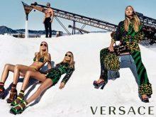 Новая коллекция сумок Versace весна-лето 2016 в работах Стивена Кляйна
