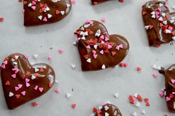 Шоколадные пряники покрытые глазурью