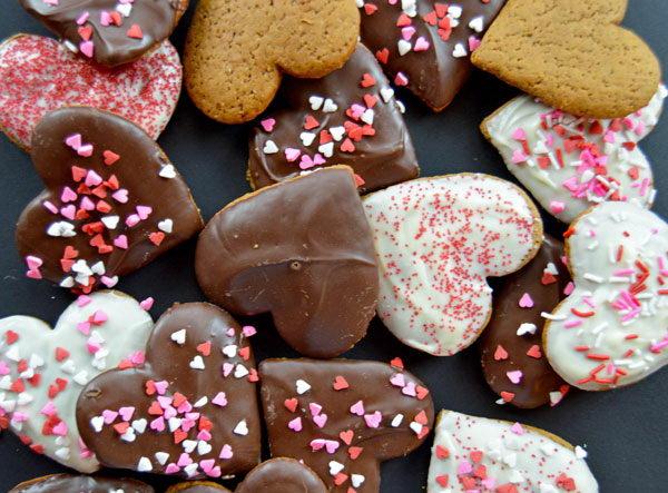 Шоколадные пряники - отличный повод позвать гостей