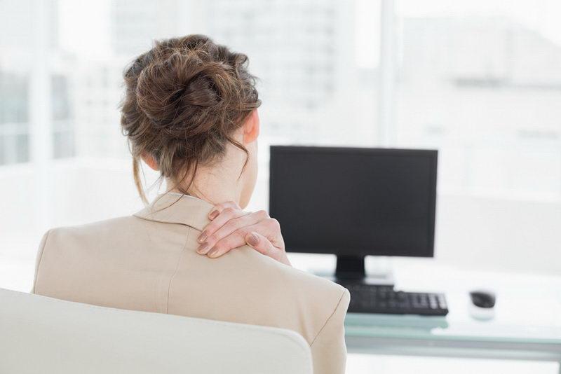 Как быстро снять напряжение в шее