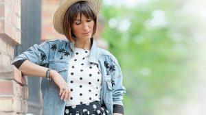 18 симпатичных идей носить горошек весной