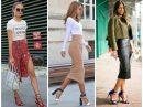 25 стильных способов носить юбку миди этой весной