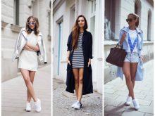 25 вариантов с чем носить кроссовки сникерсы