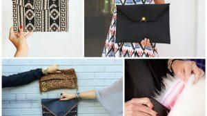 17 стильных идей, чтобы сделать сумку и клатч самостоятельно