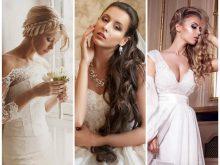 18 великолепных вариантов свадебной прически с локонами