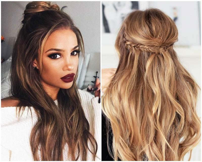 Прически на длинные волосы: 10 фото с пошаговыми инструкциями