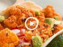 Нежная запеченная цветная капуста в тортилье – вегетарианская мечта