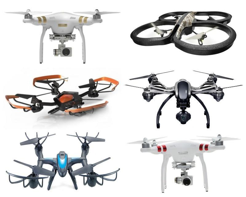 Самые крутые дроны с камерой, популярные в 2016 году