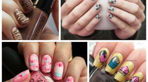 17 вкусных идей: красивый рисунок на ногтях любителям сладкого