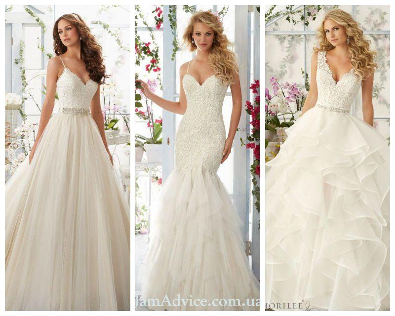 Самые красивые свадебные платья 2021 года