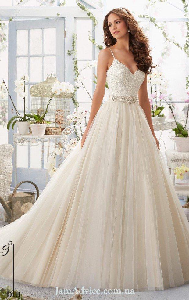 Нежные свадебные платья 2021