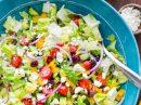 Интересный рецепт греческого салата с пикантной лимонной заправкой