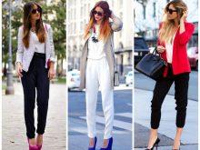 Весенний тренд: 18 стильных способов носить брюки