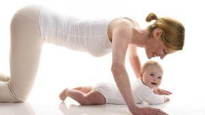 Лучший домашний фитнес с ребенком - и мама в форме!