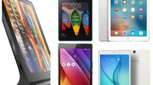 ТОП-5 самых популярных планшетов 2016 года