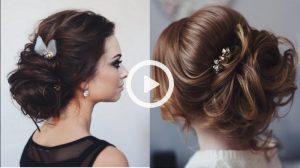 Элегантные свадебные прически: Видео