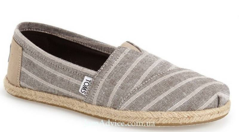 Toms Stripe Espadrille Slip-On, $59