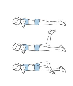 Как укрепить мышцы поясницы за 15 минут